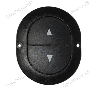 oval button control